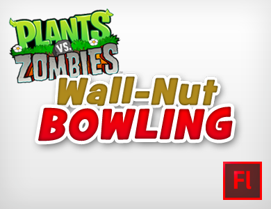 Plants VS Zombies - Wallut Bowling